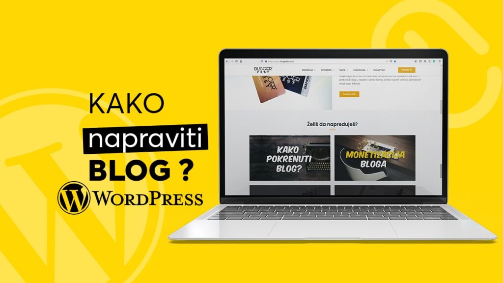kako napraviti blog wordpress-min