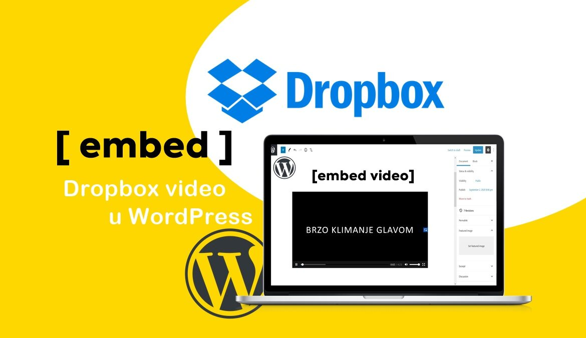 Kako dodati embed video u Wordpress blog