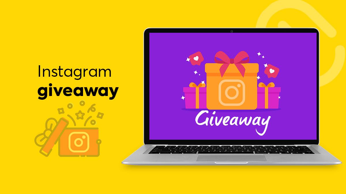 giveaway na Instagramu